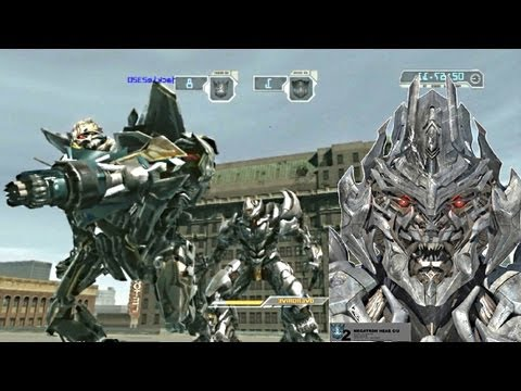 Transformers  Revenge of the Fallen  Gameplay Megatron