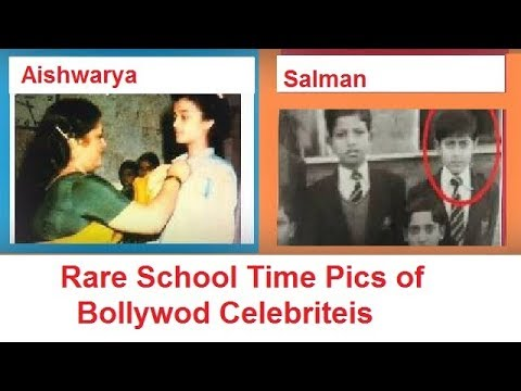 School Time Pics of 14 Bollywood Celebrities ***1st Time Collection***