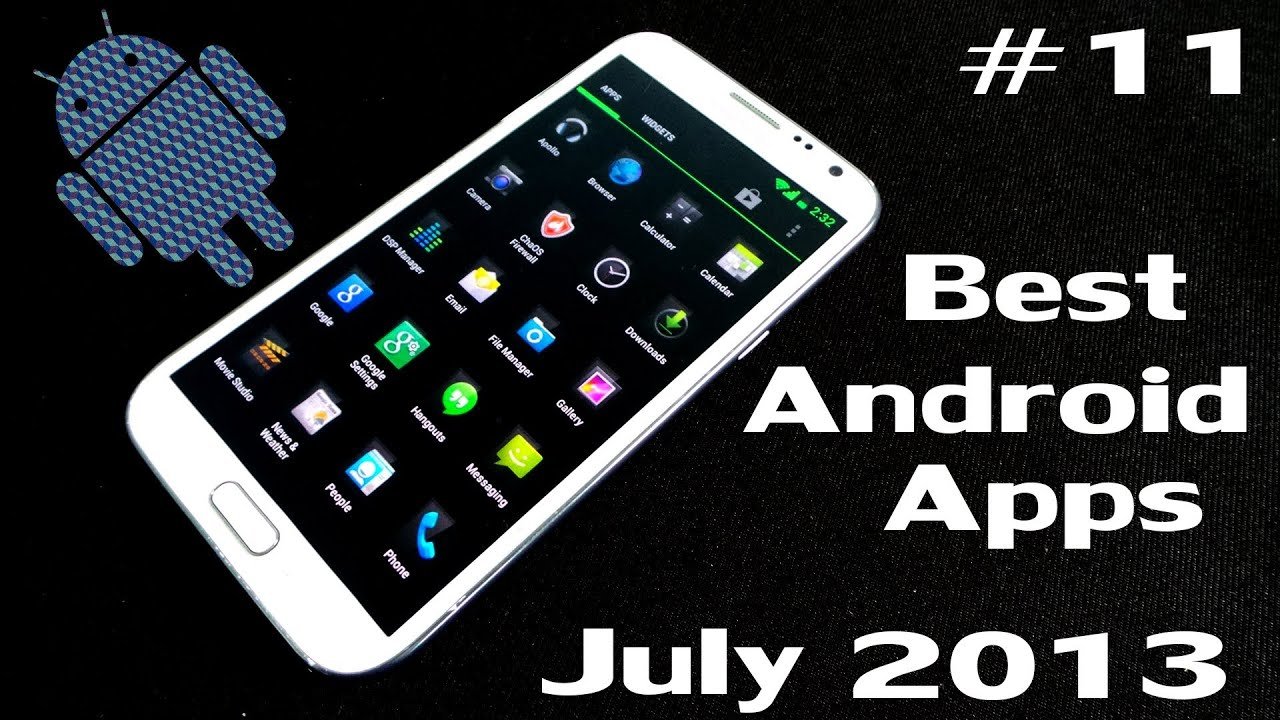 the best applications for android 2013