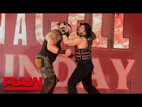 Roman Reigns brings the fight to Braun Strowman: Raw, Sept. 10, 2018
