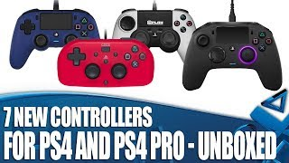7 New Controllers For PS4 And PS4 Pro - Nacon Revolution 2 and more!