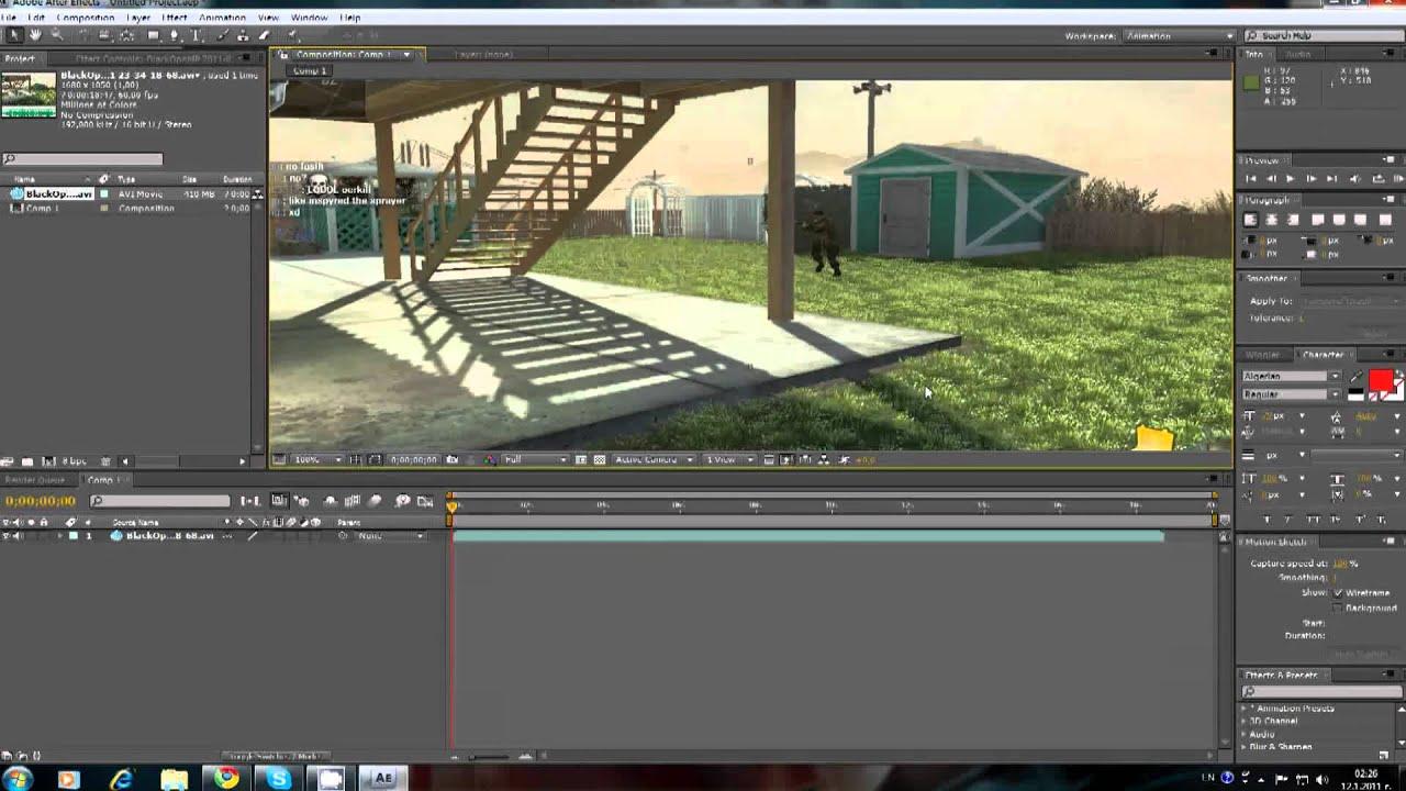 How to split clips in adobe after effects hd youtube for Splity 3 en 1