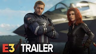 MARVEL'S AVENGERS GAMEPLAY TRAILER E3 2019
