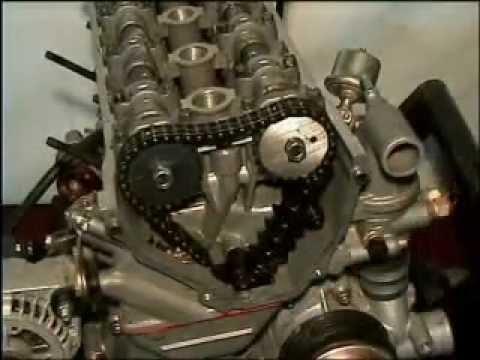 замена цепи грм на змз 406 пошаговая инструкция видео