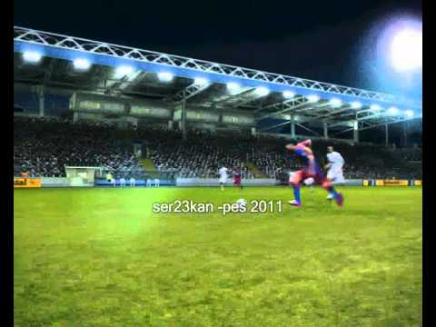 BARCELONA : 1 Real Madrid :0 Pes 2011 Lionel MESSİ Super Fantastico GoaL