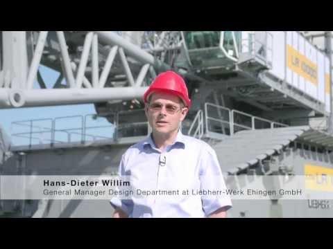 Liebherr - LR 13000: Tallest crawler crane in the world