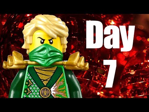 Custom LEGO Ninjago Advent Calendar 2013 Day 7 Review