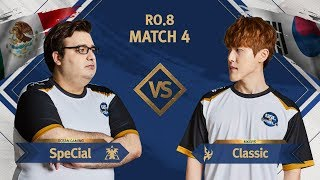 [GSL vs. the World 2019] Ro.8 Match4 SpeCial vs Classic