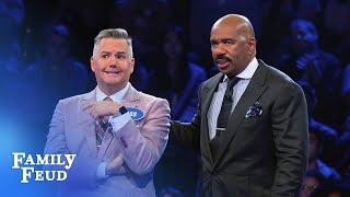 Ross and Taya are going for $25K! | Celebrity Family Feud