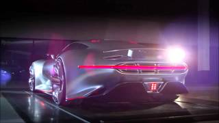 Mercedes Benz AMG Vision GT revealed   Video HD