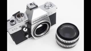 Praktica LTL3 35mm film SLR with M42 mount Carl Zeiss Jena Tessar 50mm f/2.8 standard prime lens