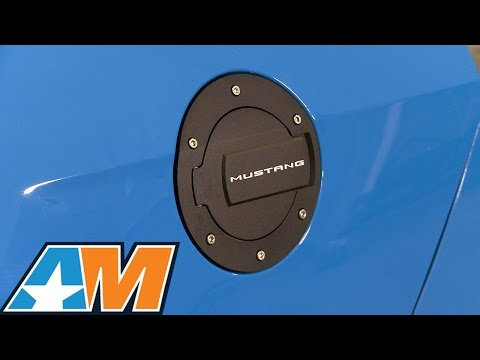1994-2014 Mustang MMD Billet Aluminum Fuel Door Review & Install