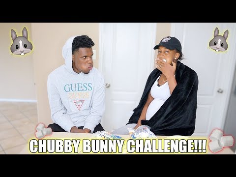 CHUBBY BUNNY CHALLEGNGE!!! Marshmallow stuffing contest!