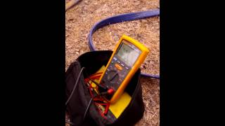 Insulation Resistance Testing on a 3 Phase Motor