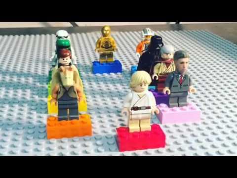 Lego Star Wars Minifigures break down