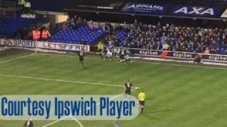 Ipswich Town's dramatic win against Coventry City, January 16 2010.