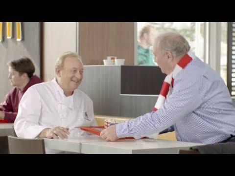 McDonalds: Hüttengaudi ab 20.12.2012 - Werbung (Mit Uli Hoeneß & Alfons Schuhbeck)