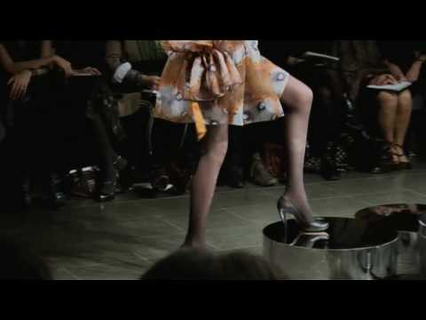 avsh alom gur for ossie clark aw 2008 Video