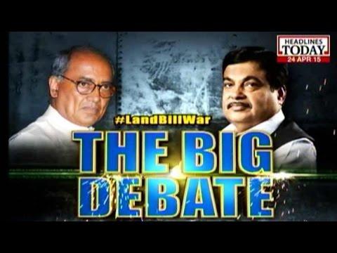 #LandBillWar: Public Debate Between Congress And BJP