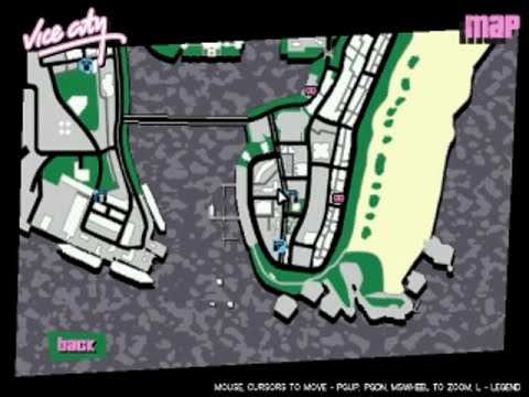 GTA: Vice City - Property/Safe Houses Location Guide