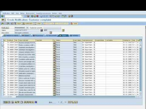 SAP QM Quality Notifications - Customer Complaints Part 2