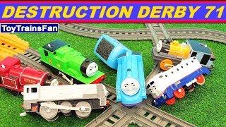 Thomas & Friends Destruction Derby #71 - Trackmaster toy trains. Pociagi Tomek i Przyjaciele