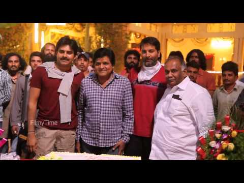 Doctorate to comedian Ali Celebrated at the sets of Pawan Kalyan - Trivikram's film