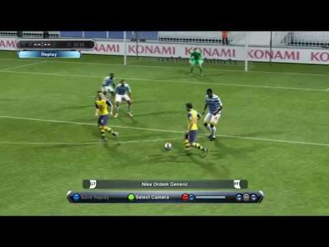 Jack Wilshere Amazing Plessing Goal - PES Best Goal