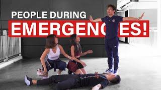 People During Emergencies