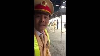 CSGT Vĩnh Phúc, dừng xe lỗi tốc độ, ko cho xem hình ảnh qua máy, bắt người vi phạm ngồi chờ hết ca
