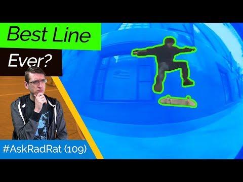 Best Line Ever? Is Capitalism Controlling Skateboarding? #AskRadRat 109