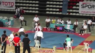 Download Lagu 61kg FINAL - Yasin Yetis Kaptan vs  Mehmet Erdogan (2017 Turkish Cadet TKD Championships) Gratis STAFABAND