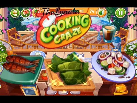 Cooking Craze/city Athens/NEW Dishes/ levels 98💥, 99💥 ,100, 101💥