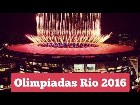 Final da abertura Olimpiadas 2016
