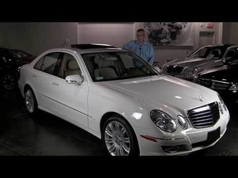 2008 Mercedes-Benz E350 4Matic - Sport Package, Navigation, Satellite Radio, iPod Adapter, 19,133 mi