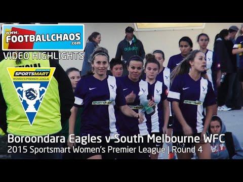 2015 WPL Rd 04 - Boroondara Eagles v South Melbourne WSC