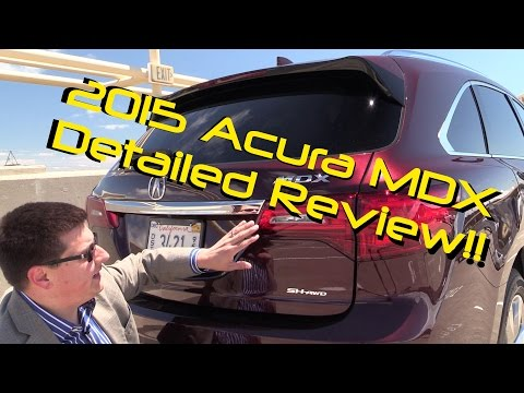 2015 Acura MDX DETAILED Review and Road Test