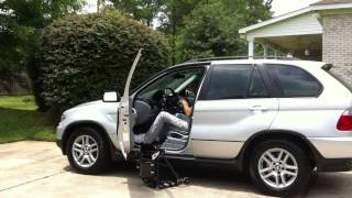Car Transfer with Carbon Fiber Wheelchair