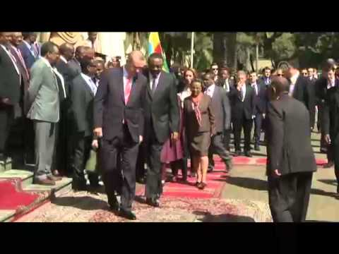 Turkish President Erdogan in Ethiopia