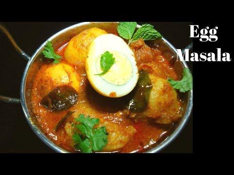 కోడి గుడ్డు మసాలా కర్రీ - Egg Masala Curry - How to Prepare Egg Masala Gravy - Egg masala