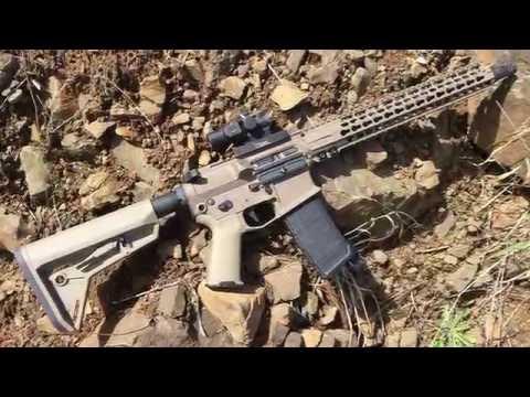 AR-15 build complete! Rainier Arms, Lantac, SLR rifleworks, Battlecomp 51.0 and more!