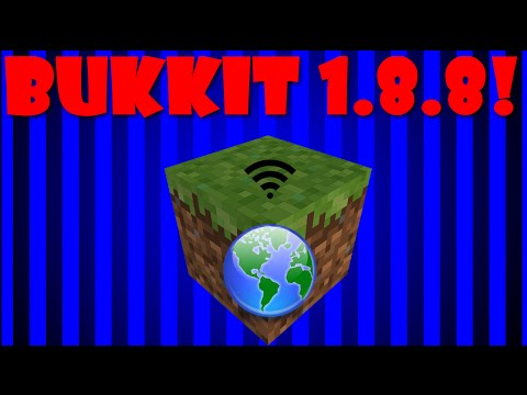 How To Make A Minecraft 1.8.8 Bukkit Server (Windows10!)