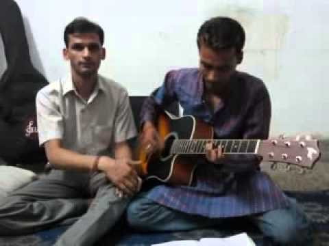 jane kahan gaye wo din on guitar by rajesh and paras