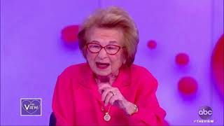 Dr. Ruth on why she's concerned about millennials' 'loneliness' and answers sex questions | The View