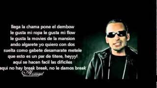 arcangel y plan b - un party remix (letra)