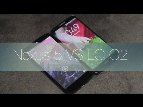 Comparativa LG G2 vs Google Nexus 5