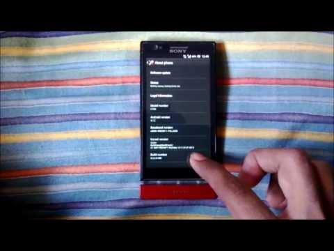 Обновление Sony Xperia P До Версии Android 4.1.2 Jelly Bean Вручную