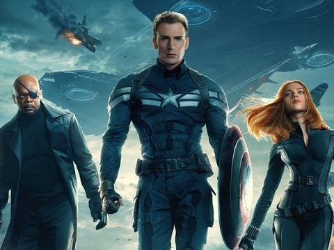 Chris Evans, Scarlett Johansson and Samuel L. Jackson Talk 'Captain America: The Winter Soldier'