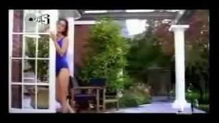 preity zinta in a blue swimsuit