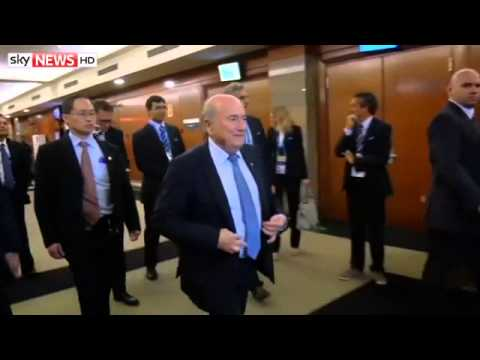Blatter Row Intensifies On Eve Of World Cup(7:18am)